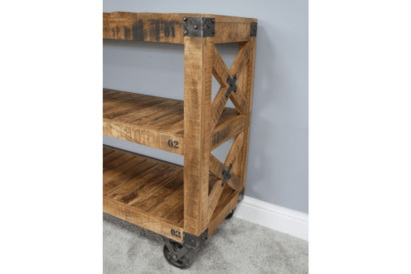 Industrial Shelving Unit Wheeled